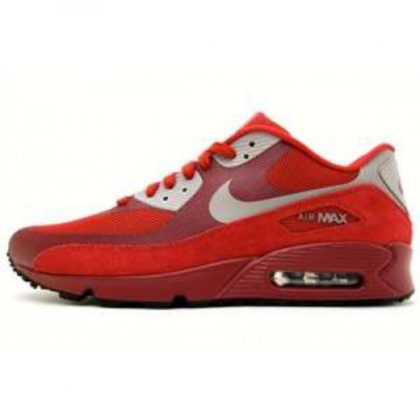 Nike Air Max 90 LE ACTION RED/OBSIDIAN-WHITE ナ�...