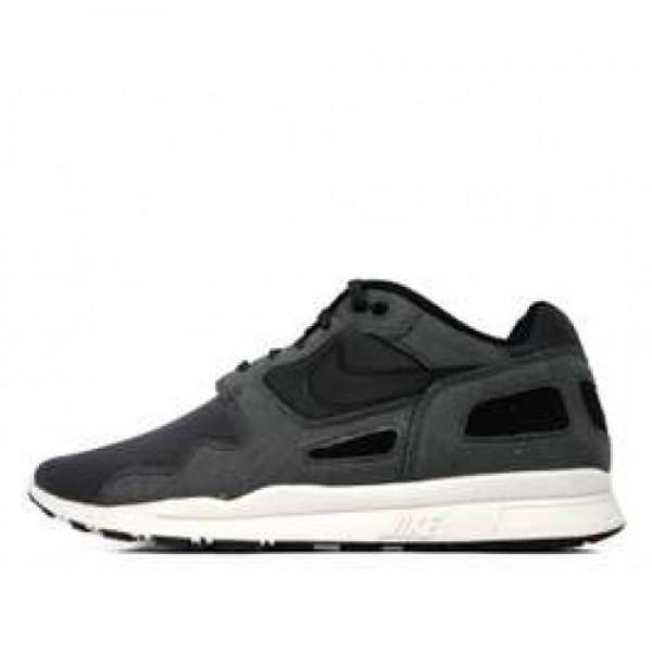 Nike Air Flow Anthracite/Black-Sum mit White ナイキ エア フロウ 黒白 458206-001  全品送料無料大セール出し!