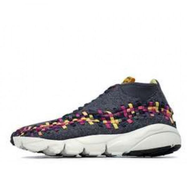 Nike Air Footscape Woven Chukka ナイキ フットスケープ ウーブン チャッカ 灰紫黄 443686-077