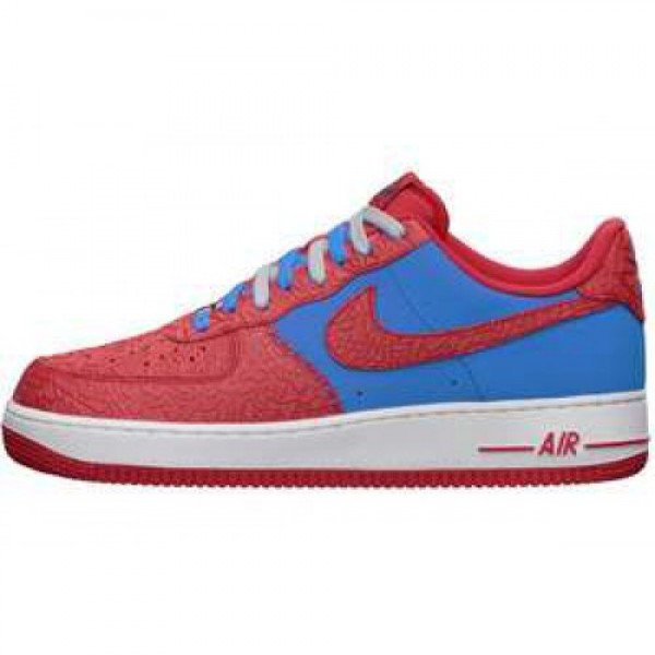 Nike Air Force 1 PHOTO BLUE/HYPER RED ナイキ �...