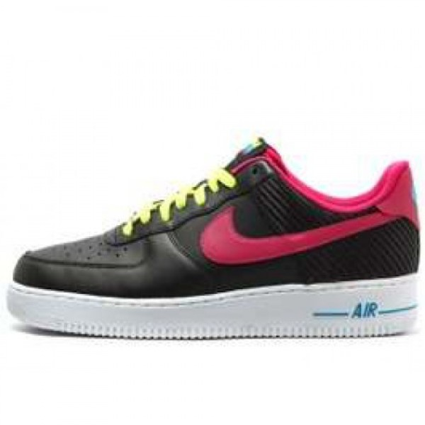 Nike Air Force 1 '07 LE BLACK/FIREBERRY ナイキ ...