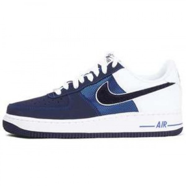 Nike Air Force 1 GAME ROYAL/BLACKENED BLUE-WHT ナ...