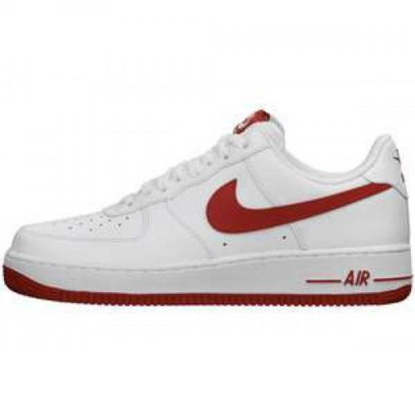 Nike Air Force 1 07 LE WHITE/GYM RED WHITE ナイ�...