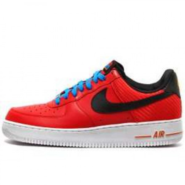 Nike Air Force 1 '07 LE CHALLENGE RED/BLACK ナイ...