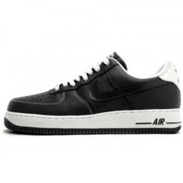 Nike Air Force 1 '07 LE BLACK/BLACK-WHITE ナイ�...