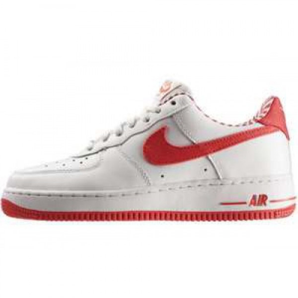 Nike WMNS Air Force 1 '07 LE WHITE/HOT PUNCH-WHITE...