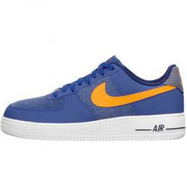 Nike Air Force 1 07 LE STORMBLUE/WHITE-VIVID ORANG...