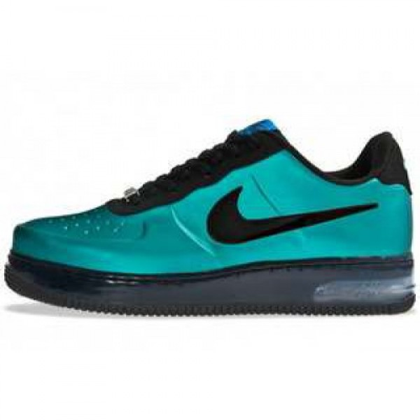 Nike Air Force 1 Foamposite Pro Low NEW GREEN/BLAC...