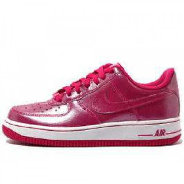 Nike Air Froce (GS) FIREBERRY/FIREBERRY-WHITE ナイキ エア フォース 1 ファイアーベリー/ファイアーベリー ホワイト 314219-600