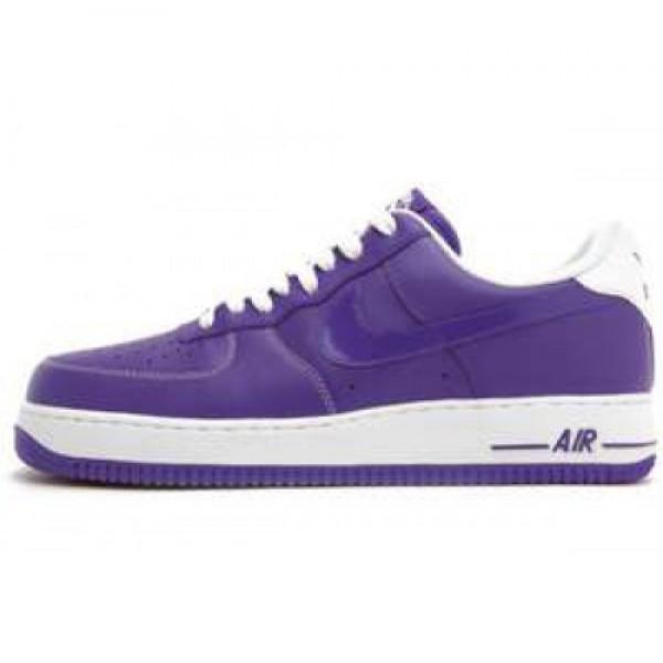 Nike Air Force 1 '07 LE COURT PURPLE/CRT PURPLE-WH...
