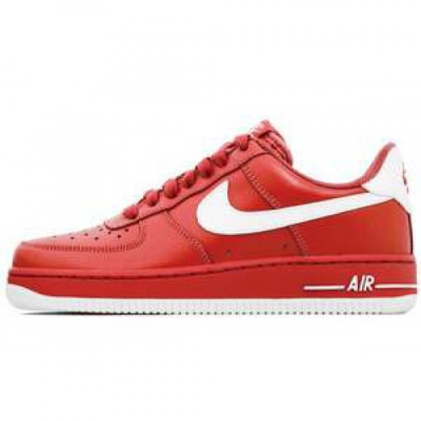 Nike WMNS Air Force 1 '07 LE SPORT RED/WHITE-SPORT...