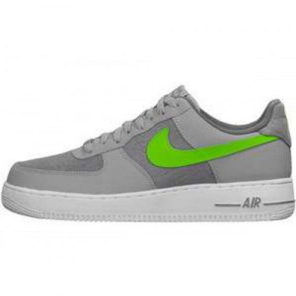 Nike Air Force 1 07 LE WOLF GREY/ACTION GREEN-WHIT...