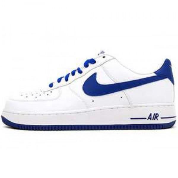 Nike Air Force 1 '07 LE WHITE/OLD ROYAL ナイキ エア フォース1'07 ホワイト/オールドロイアル 488298-114