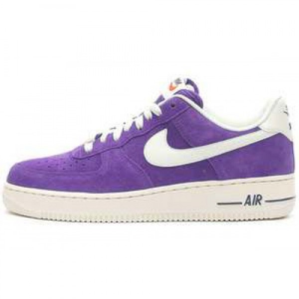 Nike Air Force 1 COURT PURPLE/SAIL ナイキ エ�...