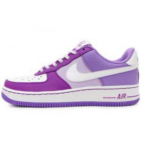 Nike Air Froce 1 Low (GS) WHITE/WHITE-MAGENTA-VIOL...