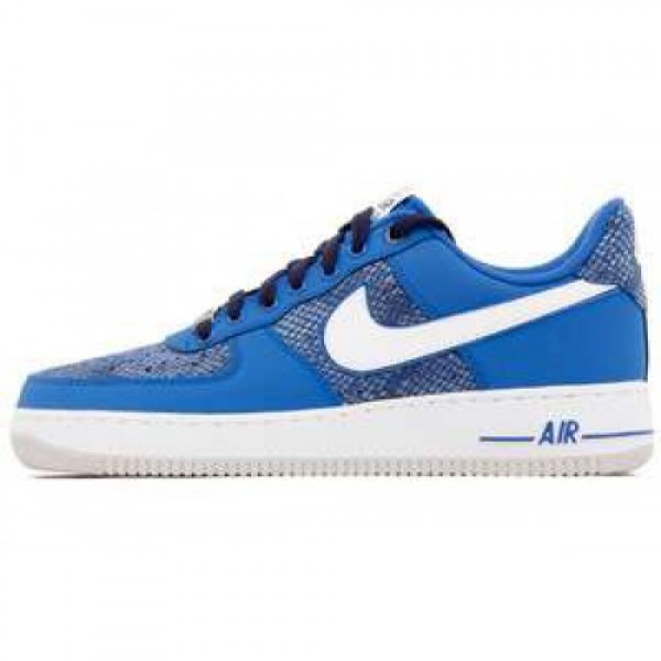 Nike Air Force 1 GAME ROYAL/WHITE-BLCKND BLUE ナ�...