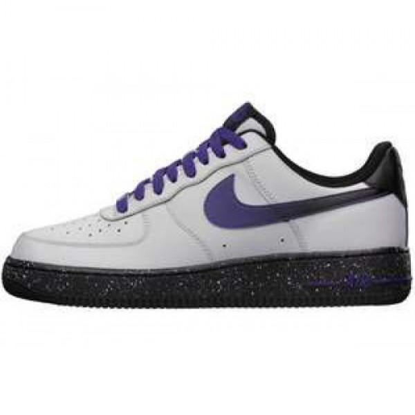 Nike Air Force 1 LE WOLF GREY/COURT PURPLE ナイ�...