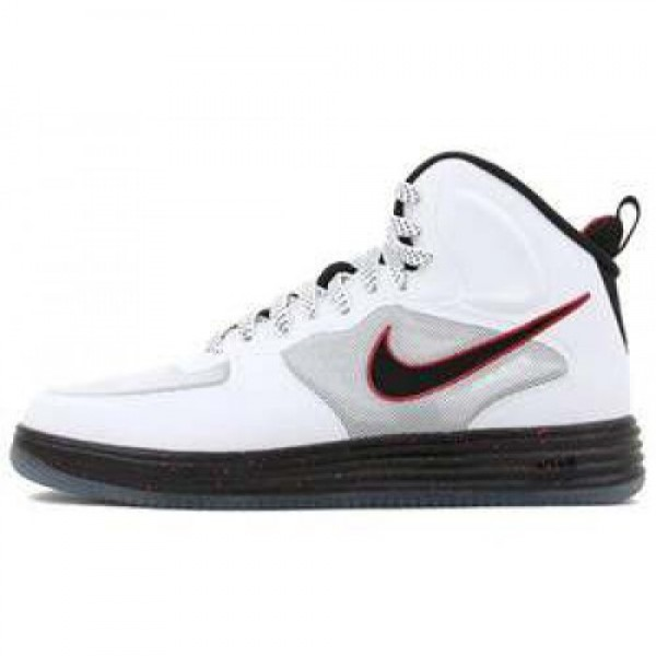 Nike Lunar Force 1 FUSE WHITE/BLACK-UNIVERSITY RED...