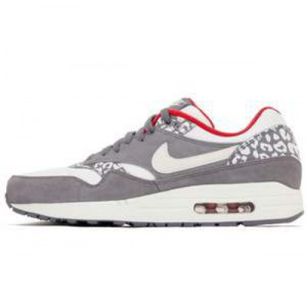 Nike WMNS Air Max 1 Snow Leopard CHARCOAL/SAIL-GYM...