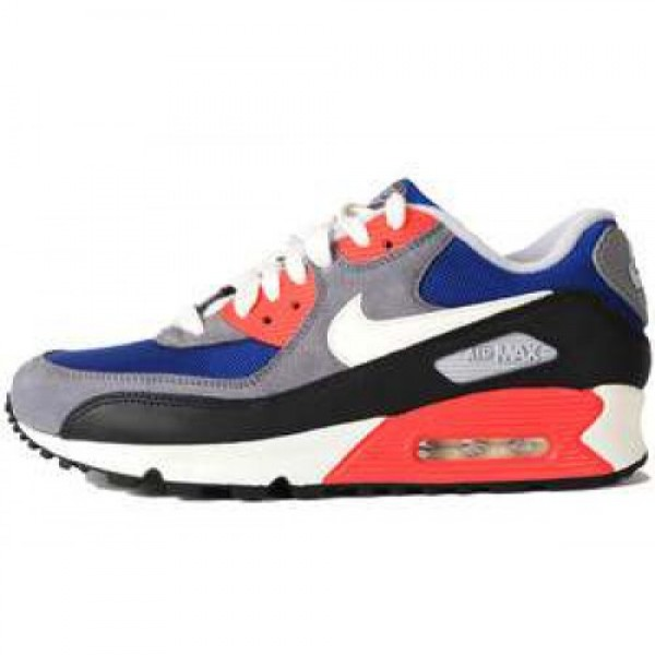 Nike WMNS Air Max 90 LE DARK ROYAL BLUE/SAIL-CHRCL...