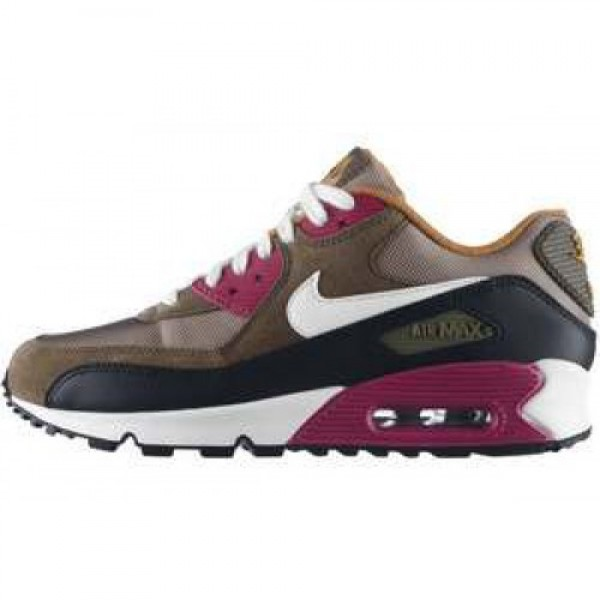 Nike WMNS Air Max 90 LE BAMBOO/SAIL-MEDIUM OLIVE-B...