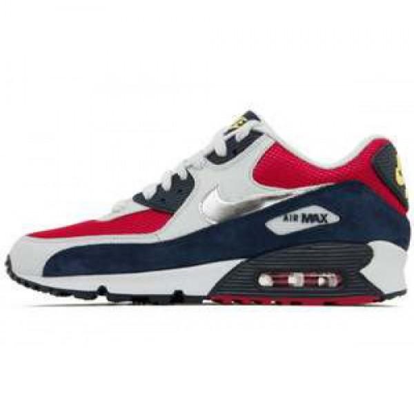 Wmns Nike Air Max 90 SPRT FCHS/MTLLC SLVR-OBSDN-WH...