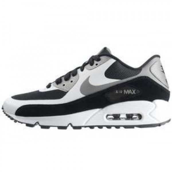 Nike Air Max 90 LE ACTION BLACK/MEDIUM GREY-WHITE ...