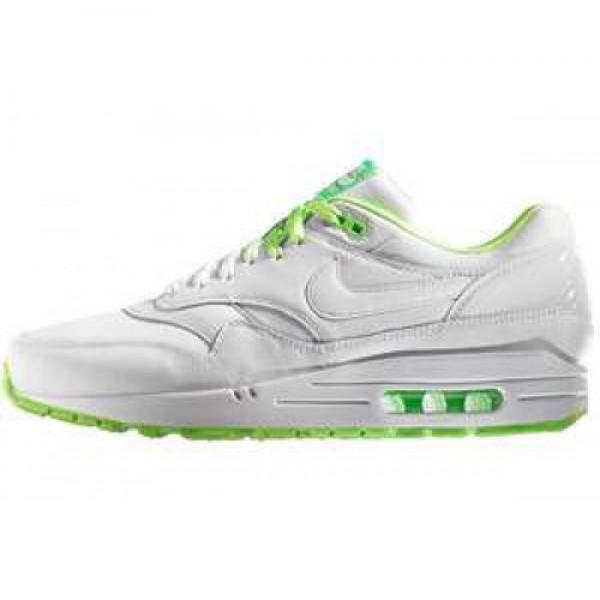 Nike Air Max 1 PRM NRG Clash Collection WHITE/WHITE--ELECTRIC GREEN ナイキ エアマックス 1 プレミアム エナジー クラッシュコレクション ホワイト/エレクトリック グリーン 535661-130