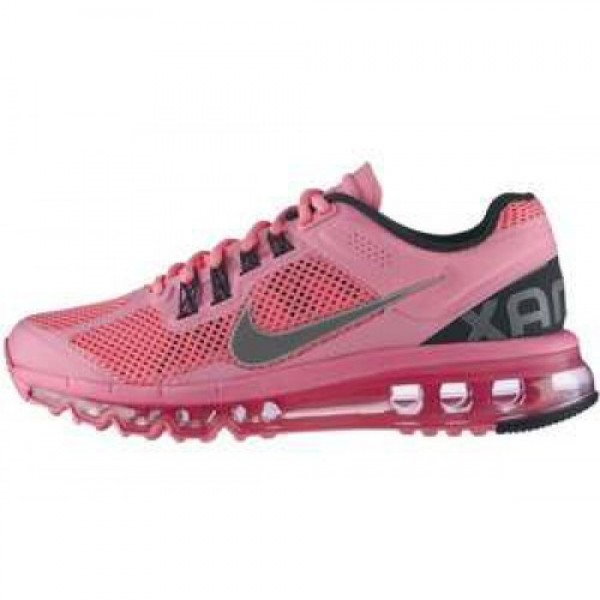 Nike Wmns Air Max+ 2013 PLRZD PNK/RFLCT SLVR-ANTHR...