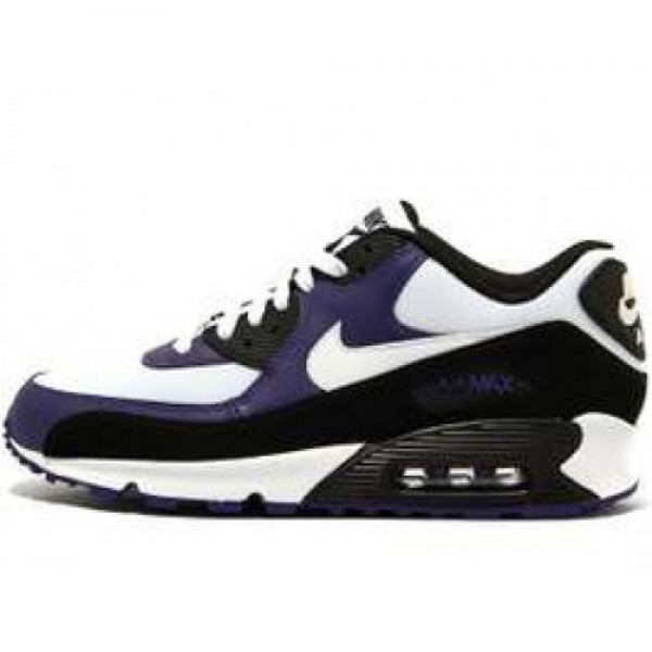 Nike Air Max 90 LE BLACK/WHITE-NEW ORCHID ナイ�...