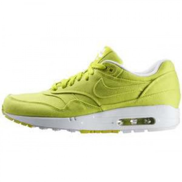 Nike Air Max 1 TXT CYBER/CYBER-WHITE-NEUTRAL GREY ...