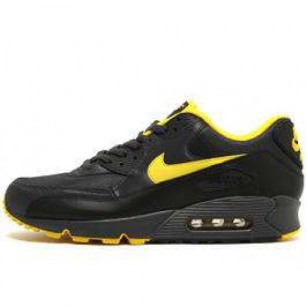 Nike Air Max 90 LE ANTHRCT/SPD YLLW-BLK-NTRL GRY ナイキ エア マックス 90 アンスラサイト/スピードイエロー ブラック ニュートラルグレイ 325018-070