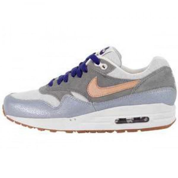 Wmns Nike Air Max 1 PRM MTLLC SLVR/VCHTT TN-MTLC C...