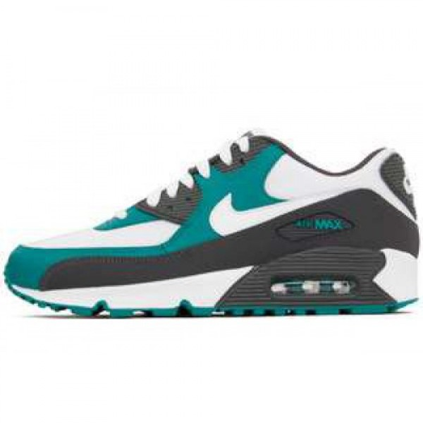 Nike Air Max 90 LE MIDNIGHT FOG/WHITE-LUSH TEAL �...