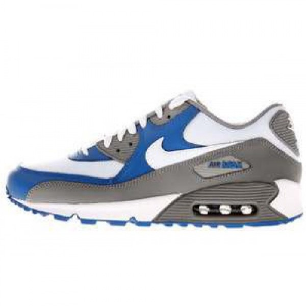 Nike Air Max 90 LE MEDIUM GREY/WHITE-VRSTY ROYAL �...