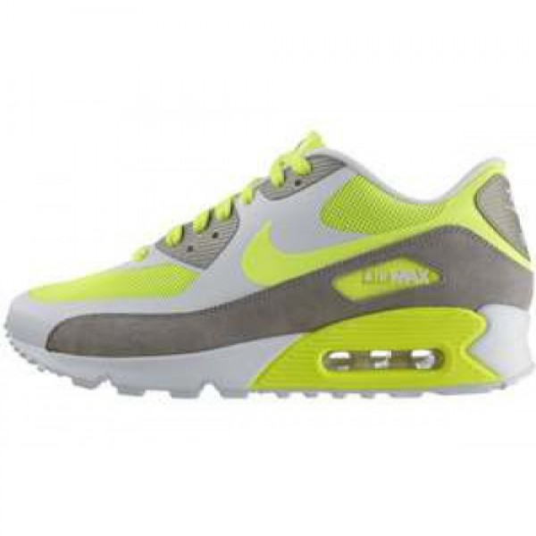 Nike Air Max 90 Premium VOLT/VOLT-WOLF GREY-WHITE ...