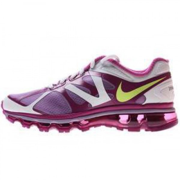 Nike Air Max +2012 (GS) VIOLET WASH/LQD LM-MGNT-WH...