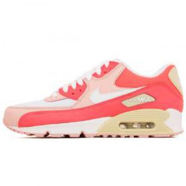 Nike WMNS Air Max 90 LE HOT PUNCH/WHITE-STORM PINK...