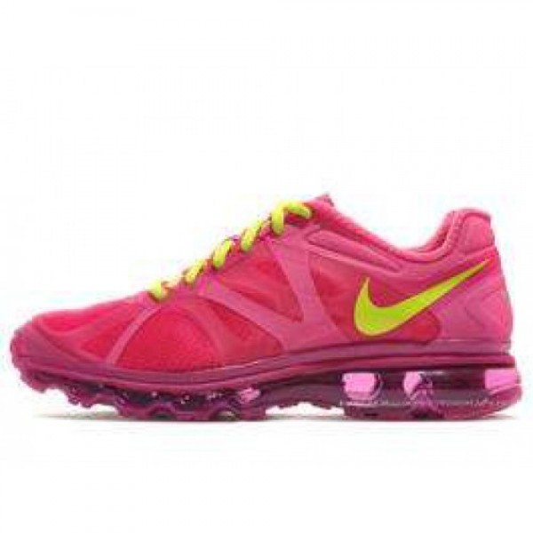 Nike Air Max +2012 (GS) DESERT PINK/ATMC GREEN-RV ...