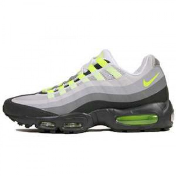 Nike Air Max 95 No Sew ANTHRACITE/VOLT-CL GRY-WLF ...