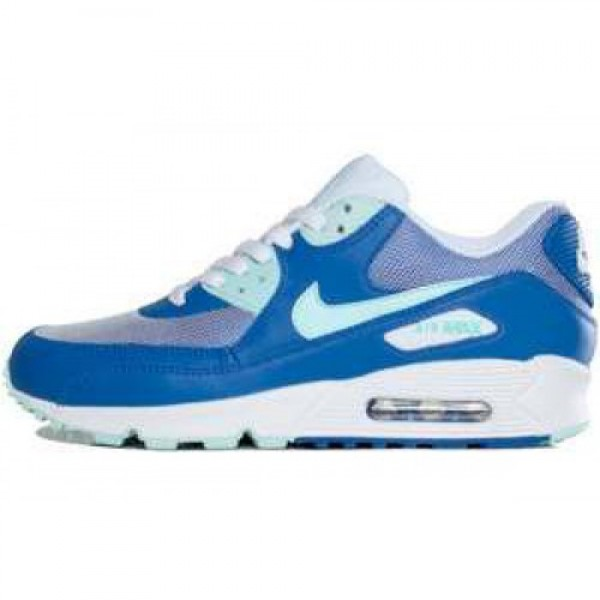Nike Wmns Air Max 90 GAME ROYAL/MINT CANDY-WHITE �...