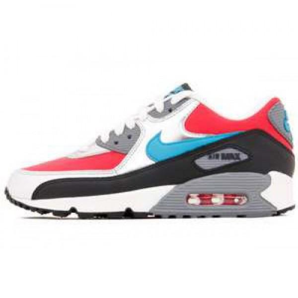 Wmns Nike Air Max 90 HYPER RED/N TRQ-ANTHRCT-CL GR...