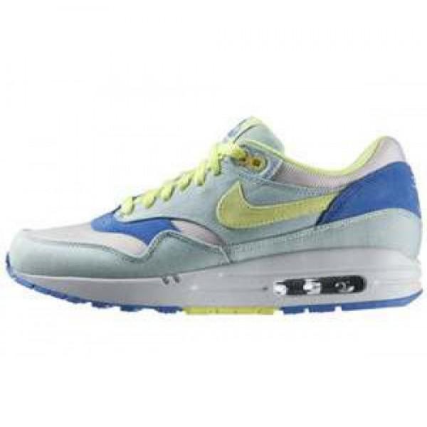 Nike WMNS Air Max 1 TXT JULEP/LIQUID LIME-COAST-WH...
