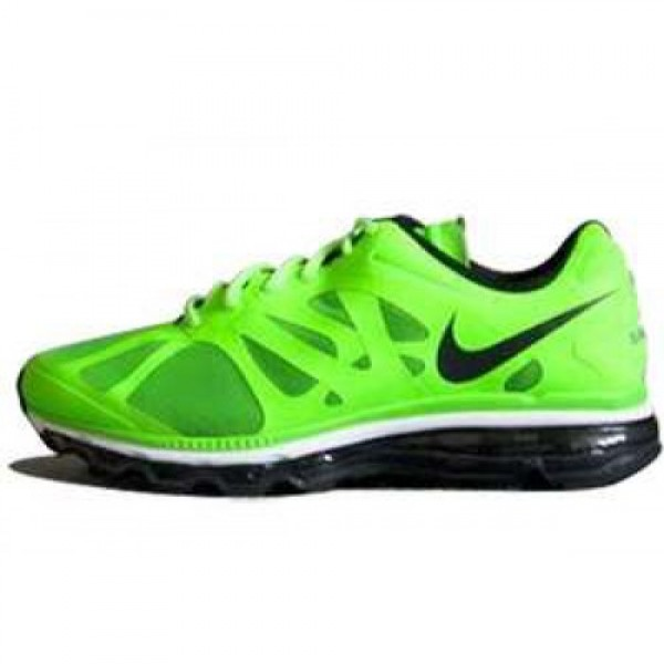 Nike Air Max+ 2012 ELECTRIC GREEN/BLACK-WHITE ナ�...