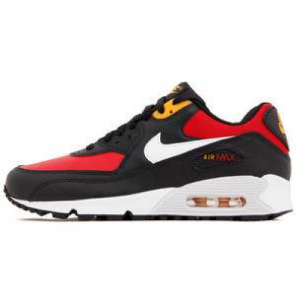 Nike Wmns Air Max 90 (GS) GYM RED/WHITE-BLACK-CNYN...