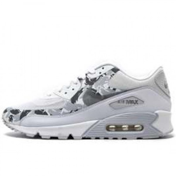Nike Air Max 90 Premium WHITE/REFLECT SILVER-CHARC...