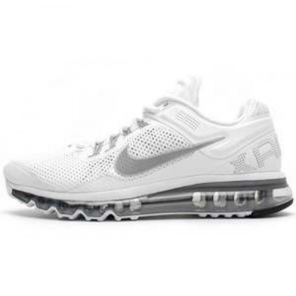 Nike Air Max+ 2013 WHITE/REFLECT SILVER-WOLF GREY ...