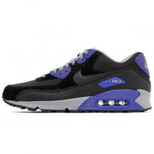Nike Air Max 90 Essential BLACK/BLACK-CONCORD-COOL...