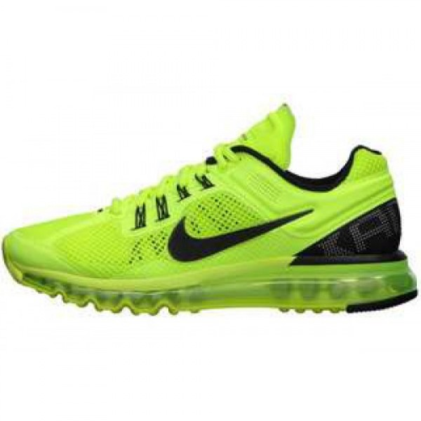 Nike Air Max+ 2013 VOLT/BLACK-WHITE ナイキ エ�...