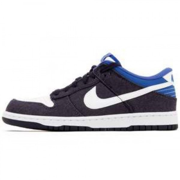Nike Dunk Low Denim BLACKENED BLUE/WHITE-GM ROYAL ...
